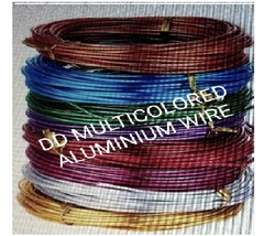 DD Multicolored Aluminium Wire