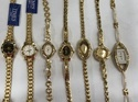 Times Gold Plated Women Watches