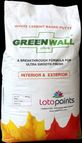 Green Wall Plus Premium Wall Putty
