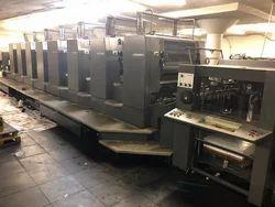 Heidelberg CD 102-6LX 6 Color Offset Printing Machine