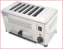 Commercial 4 Bread Toaster