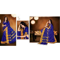 Hiraj Rich Pallu Cotton Saree