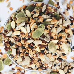 Dried 7 Super Seed Mix Roasted, For Good Health, Packaging Type: LOOSE