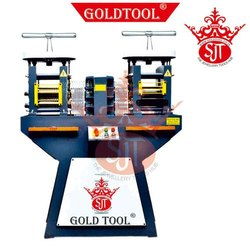 Gold Tool Heavy Duty Speed Jewelry Double Head Rolling Mill