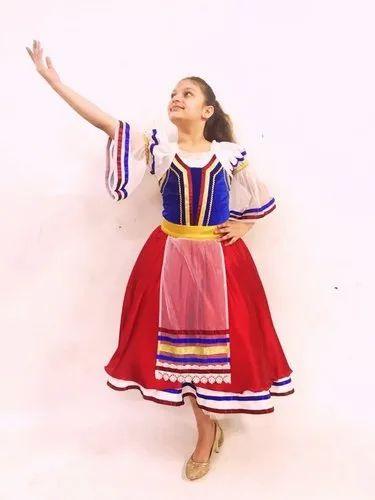 Italian Ballet Costume Italian Tarantella Ballet Costume
