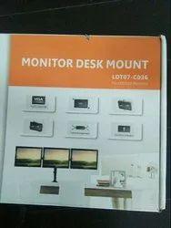 LDT07-C036 Monitor Desk Mount Stand