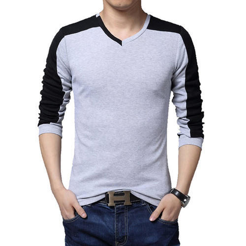 cbf7925e53e4 Strips Cotton Mens Full Sleeves Stylish Strip T-Shirts, Rs 250 ...