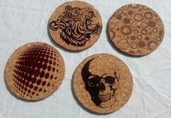 Cork Coaster Printed