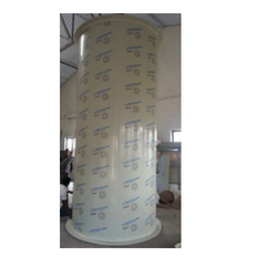 Chemical Storage Tank With Exhaust Fumes Wash