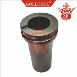 Gold Tool Graphite Crucible GLM For Jewellery Melting Furnace