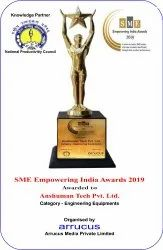 SME Empowering India Awards 2019-Category - Engineering Equipments