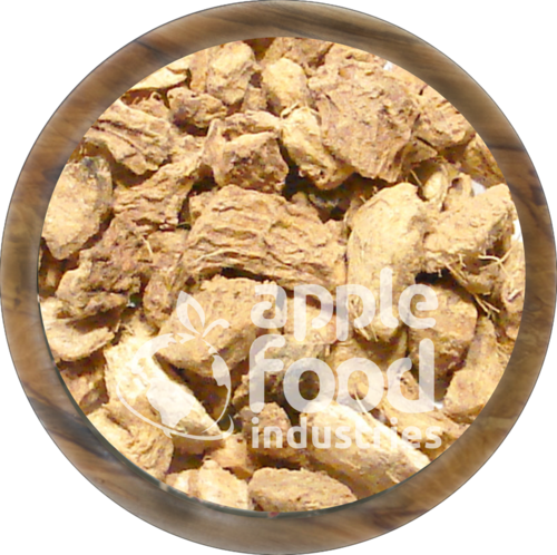 Apple Food Dried Ginger Whole, 20 KG per Bag