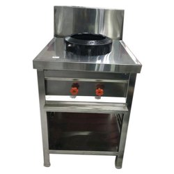 Elina Gas SS Chinese Burner for Commercial
