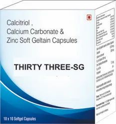 Calcitriol, Calcium Carbonate & Zinc