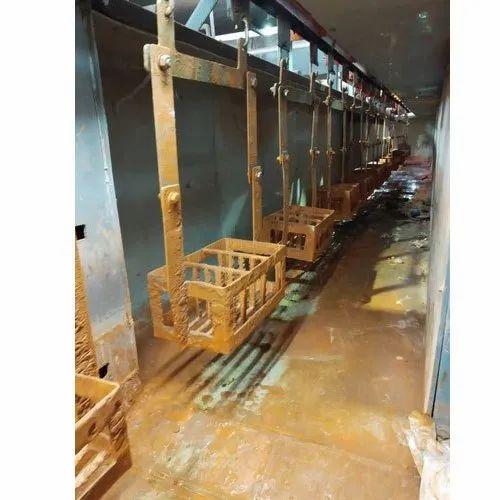 Conveyerised Ammonia Pickling System