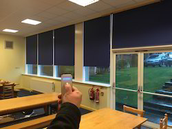 Motorized Blinds - Window Covering