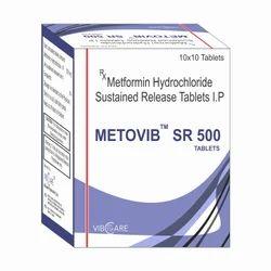 Metformin SR 500mg Tablet
