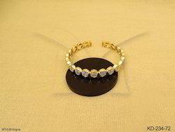 American Diamond Kada Jewellery
