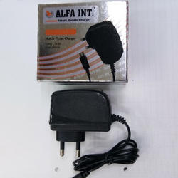 Black Smart Phone Charger