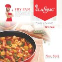 Non Stick Aluminium Fry Pan Size 240 MM