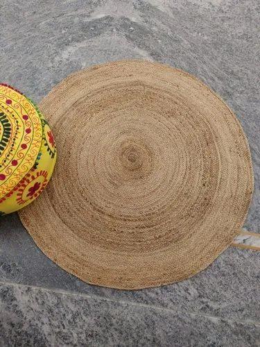 Handmade Jute Rug Indian Floor Carpet