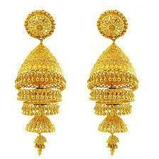 40bd44a99e6f7 Gold Jhumkas at Best Price in India