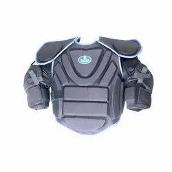 Fiber Black Hockey Chest Protector