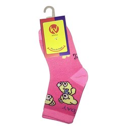 Child Lycra Cotton Socks Kv-02