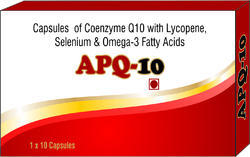 Capsules of Coenzyme Q10 with Lycopene, Selenium & amp Omega 3 Fatty Acids