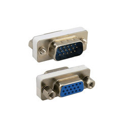 VGA Male and Female Connector