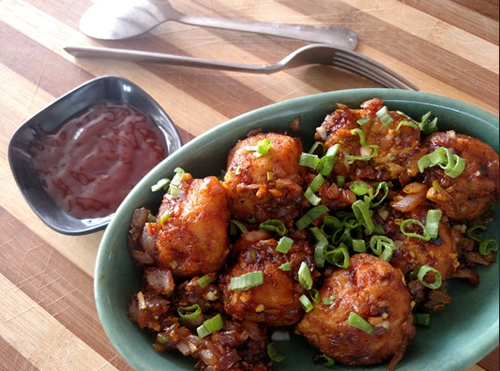 Veg manchurian dry at rs 129 plate processed food id 17858103212 veg manchurian dry forumfinder Gallery