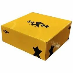 Cardboard Disposable Clothing Storage Box, for Apparel, Box Capacity: 1-5 Kg