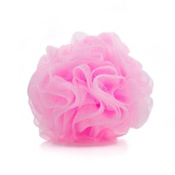 100% Hdpe Loofah or Body Scrubber, For Personal, Pouf Shape