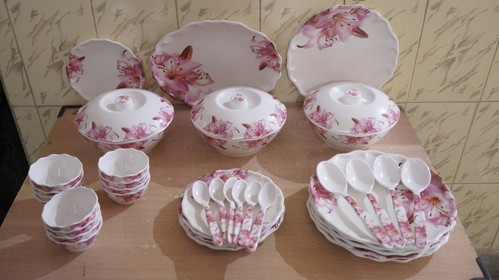 Mix Dinner Set, Size: 12 Inch