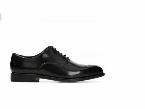 Black Ellis Vincent Men Shoes, Size: 8