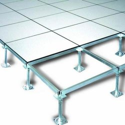 Steel Square False Flooring Service