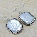Pearl Gemstone 925 Sterling Wholesale Silver Jewellery Earring
