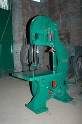 Vertical Wood Cutting Bandsaw Machine C.I. Body