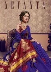 YNF Nevanta Silk Saree Catalog Collection
