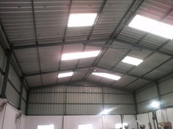 Factory Sheds Fabrication Services in India