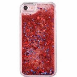 Plastic Liquid Glitter Mobile Cover