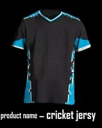 V Neck Cricket Jersey
