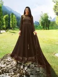 Designer Long Ladies Gown