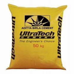 PPC (Pozzolana Portland Cement) Ultratech Cement, Cement Grade: General High Grade
