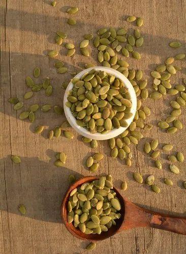 Green Natural PUMPKIN SEEDS, Packaging Size: 25 Kg, Packaging Type: Vaccum Pack Of (12.5 Kg X 2)