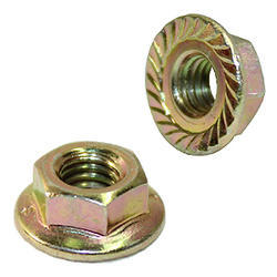 Hex Flange Nut, Size: M4 to M12