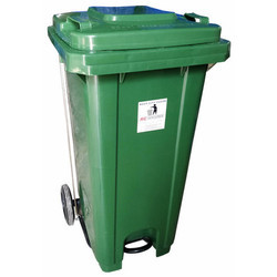 120L Wheel And Pedal Dust Bin