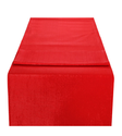 Beige Red White Gloria Table Runner, Size: 35x150cm