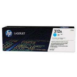 HP CF381A 312A Cyan Toner Cartridge