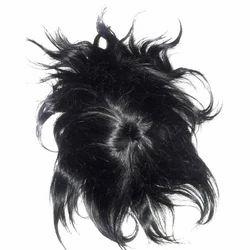 Black Net Wig